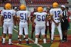 Lynwood Knights Boys Freshman Football Fall 16-17 team photo.