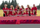 Vernon-Verona-Sherrill Red Devils Girls Varsity Softball Spring 14-15 team photo.