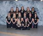 Corning-Painted Post Hawks Girls Varsity Softball Spring 14-15 team photo.