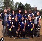 Muir Mustangs Girls Varsity Softball Spring 14-15 team photo.