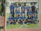 Shandon Outlaws Girls Varsity Softball Spring 14-15 team photo.
