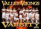 Valley Vikings Boys Varsity Basketball Winter 13-14 team photo.