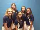 C.B. Aycock Golden Falcons Girls Varsity Golf Fall 15-16 team photo.