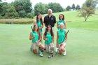 Alleghany Trojans Girls Varsity Golf Fall 15-16 team photo.
