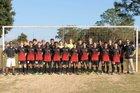 West Florida Jaguars Boys Varsity Soccer Winter 17-18 team photo.