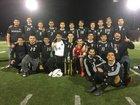 Castle Park Trojans Boys Varsity Soccer Winter 17-18 team photo.