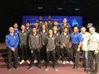 Southeast Seminoles Boys Varsity Soccer Winter 17-18 team photo.