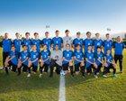 Desert Christian Academy Conquerors Boys Varsity Soccer Winter 17-18 team photo.