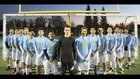 Center Cougars Boys Varsity Soccer Winter 17-18 team photo.