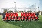 Mater Dei Monarchs Boys Varsity Soccer Winter 17-18 team photo.