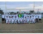 Robinson Knights Boys Varsity Soccer Winter 17-18 team photo.