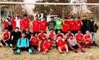 Arvin Bears Boys Varsity Soccer Winter 17-18 team photo.