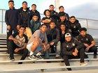 South Rebels Boys Varsity Soccer Winter 17-18 team photo.