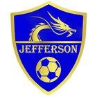 Jefferson Dragons Boys Varsity Soccer Winter 17-18 team photo.