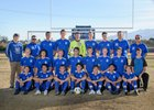 Safford Bulldogs Boys Varsity Soccer Winter 17-18 team photo.