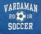 Vardaman Rams Boys Varsity Soccer Winter 17-18 team photo.