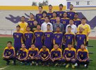 Mesa Jackrabbits Boys Varsity Soccer Winter 17-18 team photo.