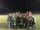 Damien Spartans Boys Varsity Soccer Winter 17-18 team photo.