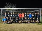 Villa Park Spartans Boys Varsity Soccer Winter 17-18 team photo.