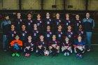 Cooper Pirates Boys Varsity Soccer Winter 17-18 team photo.