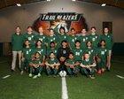 Lebanon Trail Trail Blazers Boys Varsity Soccer Winter 17-18 team photo.