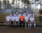 Port St. Joe Sharks Boys Varsity Soccer Winter 17-18 team photo.