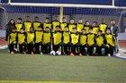 Wisdom Generals Boys Varsity Soccer Winter 17-18 team photo.
