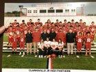 Clarksville Panthers Boys Freshman Football Fall 19-20 team photo.