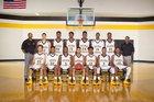 Fairmont Golden Tornadoes Boys Varsity Basketball Winter 15-16 team photo.
