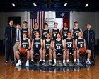Dallas Jesuit Rangers Boys Varsity Basketball Winter 15-16 team photo.