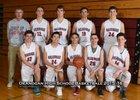 Okanogan Bulldogs Boys Varsity Basketball Winter 15-16 team photo.