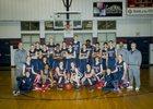 Baptist Prep Eagles Boys Varsity Basketball Winter 15-16 team photo.