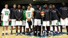 Cary Imps Boys Varsity Basketball Winter 15-16 team photo.