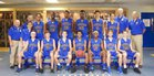 The First Academy Royals Boys Varsity Basketball Winter 15-16 team photo.