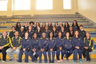 Highland Hornets Girls Varsity Track & Field Spring 15-16 team photo.