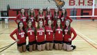 Blountstown Tigers Girls Varsity Volleyball Fall 14-15 team photo.