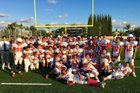 Whittier Cardinals Boys Freshman Football Fall 18-19 team photo.