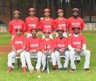 Banneker Trojans Boys JV Baseball Spring 18-19 team photo.