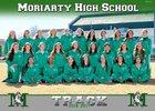 Moriarty Pintos Girls Varsity Track & Field Spring 16-17 team photo.