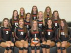 Sarasota Sailors Girls Varsity Volleyball Fall 17-18 team photo.