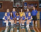 North Surry Greyhounds Girls Varsity Volleyball Fall 17-18 team photo.