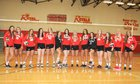 Holy Redeemer Royals Girls Varsity Volleyball Fall 17-18 team photo.