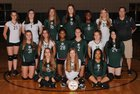 Episcopal Wildcats Girls Varsity Volleyball Fall 17-18 team photo.