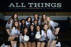 Maranatha Christian Eagles Girls Varsity Volleyball Fall 17-18 team photo.