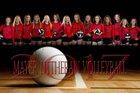 Mayer Lutheran Crusaders Girls Varsity Volleyball Fall 17-18 team photo.