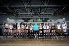 Olympian Eagles Girls Varsity Volleyball Fall 17-18 team photo.