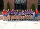 Jefferson Dragons Girls Varsity Volleyball Fall 17-18 team photo.
