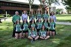 Newark Catholic Green Wave Girls Varsity Volleyball Fall 17-18 team photo.