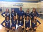 California Lutheran C-Hawks Girls Varsity Volleyball Fall 17-18 team photo.