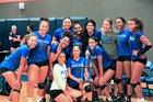 Westview Knights Girls Varsity Volleyball Fall 17-18 team photo.